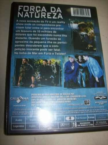 Dvd - Força Da Natureza - Treat Williams - Nacional - Usado na internet