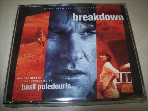 Cd - Breakdown - Basil Poledouris - 3cds - Limitado -lacrado