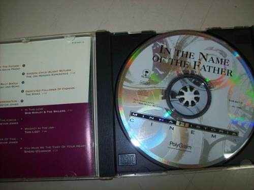 Cd - In The Name Of The Father - Trevor Jones - Nacional - comprar online