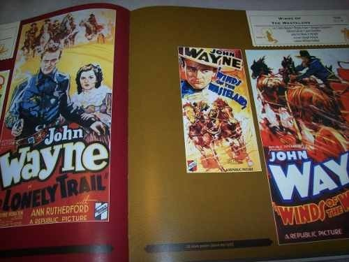Cd - John Wayne West-in Music And Poster Art-box Set-10 Cds - Always Discos