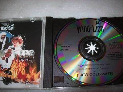 Cd - The Wind And The Lion - Jerry Goldsmith - Importado - comprar online