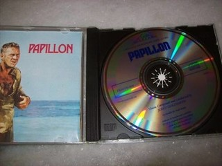 Cd - Papillon - Jerry Goldsmith - Importado - Usado - comprar online