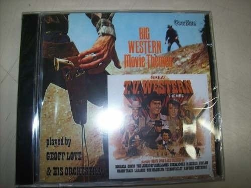 Cd - Big Western Movie Themes - Geoff Love - Importado