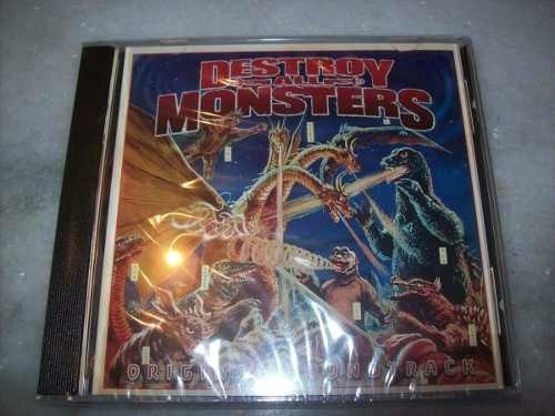 Cd - Destroy All Monsters - Soundtrack - Importado - Lacrado