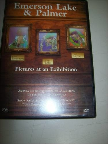 Dvd - Emerson Lake & Palmer - Pictures At An Exihibilion