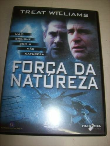 Dvd - Força Da Natureza - Treat Williams - Nacional - Usado