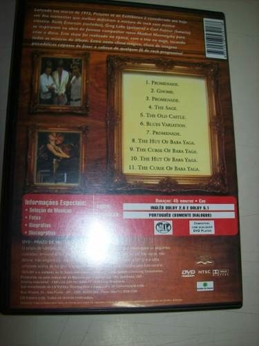 Dvd - Emerson Lake & Palmer - Pictures At An Exihibilion na internet
