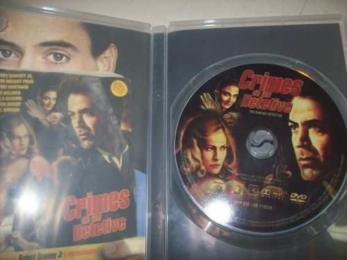 Dvd - Crimes De Um Detetive - Robert Downey Jr. - Nacional - comprar online