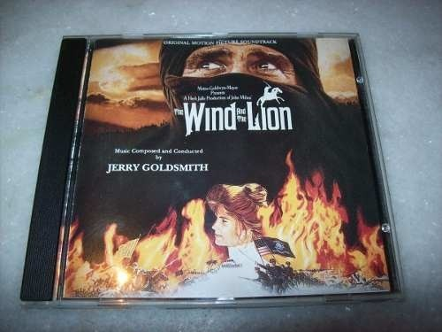 Cd - The Wind And The Lion - Jerry Goldsmith - Importado