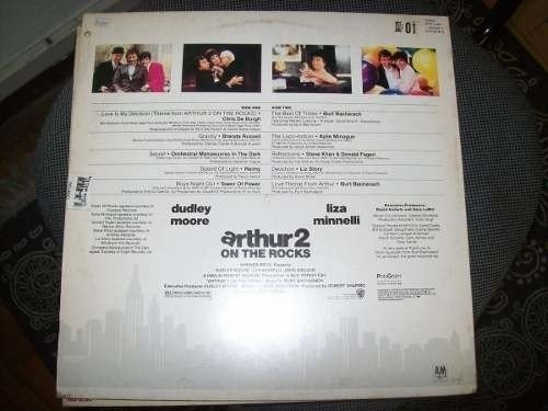 Lp - Arthur 2 - On The Rocks - Chris De Burgh - Soundtrack - comprar online