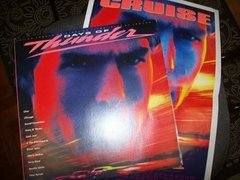 Lp - Days Of Thunder - Soundtrack - Com Poster - Nacional - Always Discos