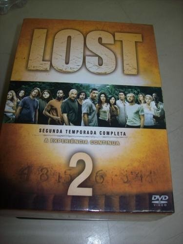 Dvd - Lost -2 Temporada Completa-box Com 7 Dvds-nacional