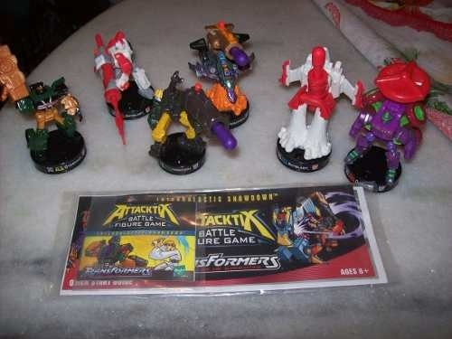 Lote com 6 Figuras: Transformers - Battle Figure Game - Hasbro