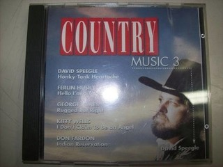 Cd - Country Music 3 - Nacional - Usado