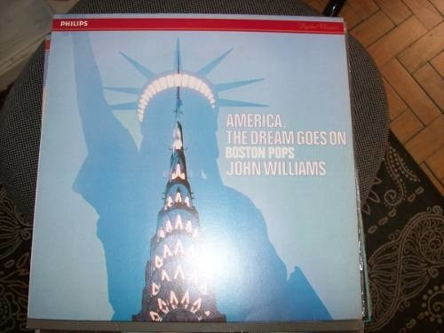 Lp - Boston Pops - John Williams - America, Dream - Nacional