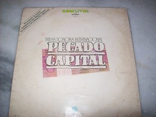 Lp - Pecado Capital- Internacional - Novela - 1976