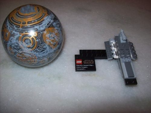 Lego Star Wars - Republic Assault - Coruscant - 75007 (Usado)