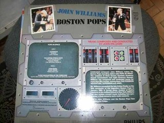Lp - Boston Pops - John Williams - Pops In Space - Importado - comprar online