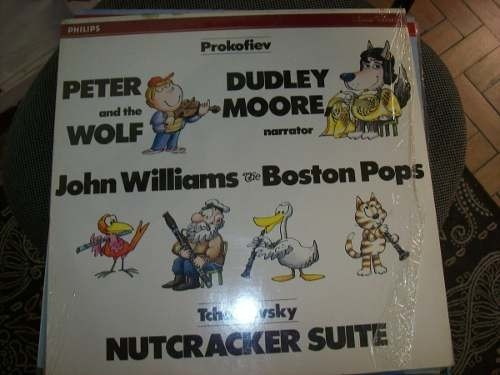 Lp - Boston Pops - John Williams - Peter And The Wolf - Imp.