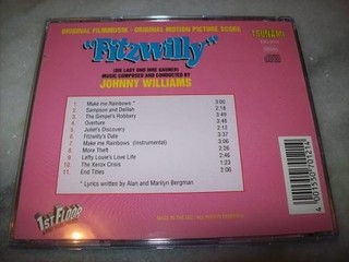 Cd - Fitzwilly - John Williams - Importado - Usado na internet