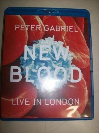 Blu Ray - Peter Gabriel -new Blood- Live In London -nacional na internet