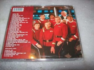 Cd - Star Trek 6 - The Undiscovered Country - Completo -rare na internet