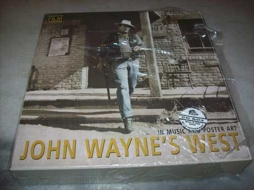 Cd - John Wayne West-in Music And Poster Art-box Set-10 Cds