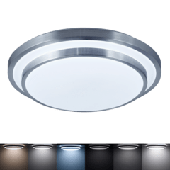 Aplique de techo LED Diseño minimalista dimerizable regulador de color de luz con control remoto CCD.53