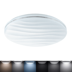 Aplique de techo LED Diseño minimalista dimerizable regulador de color de luz con control remoto CCD.55