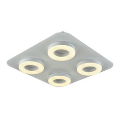 Luminaria aplique / plafon de techo LED 4 luces CDL.20