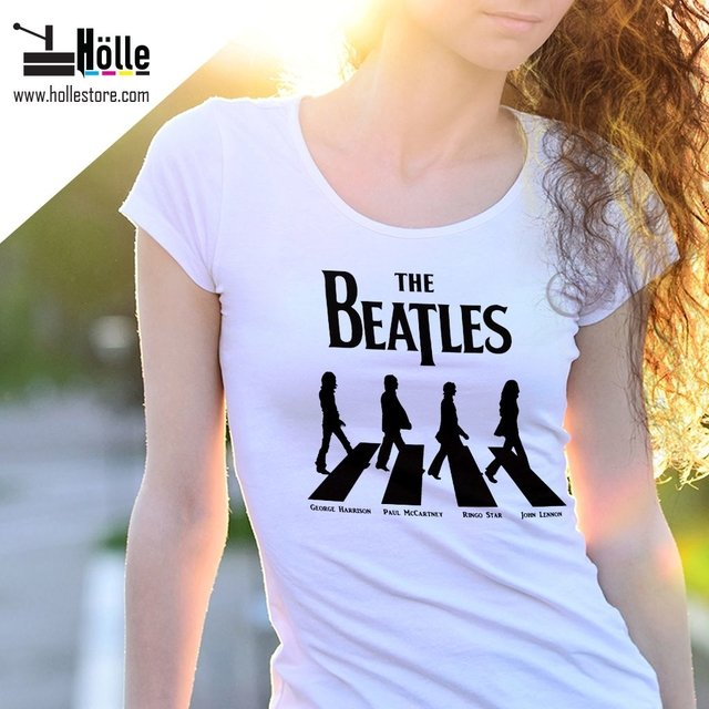Remera Mujer The Beatles