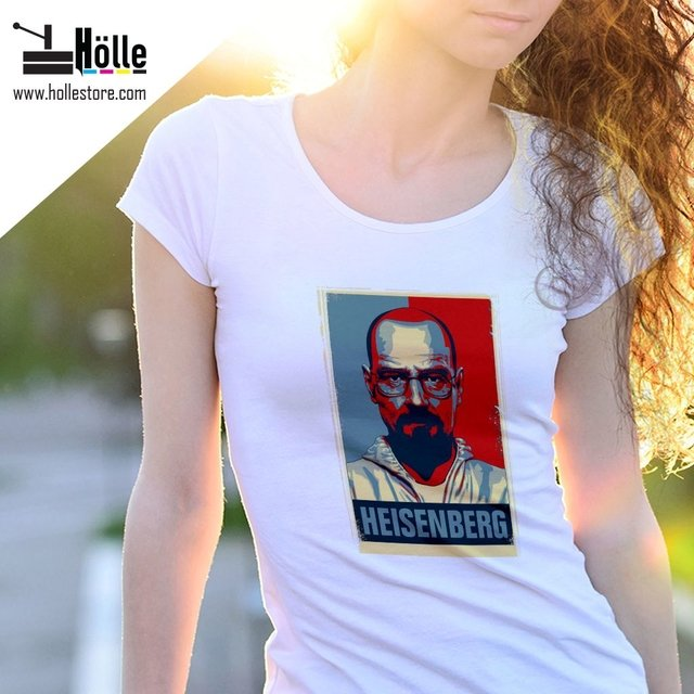 Remera Mujer Breaking Bad