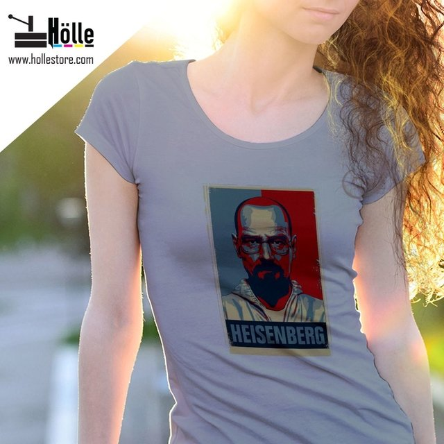 Remera Mujer Breaking Bad - comprar online