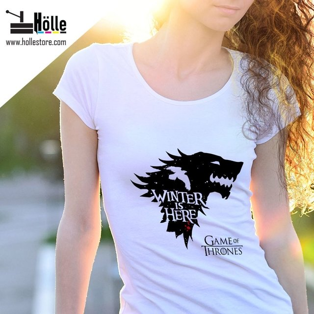 Remera Mujer Game of Thrones
