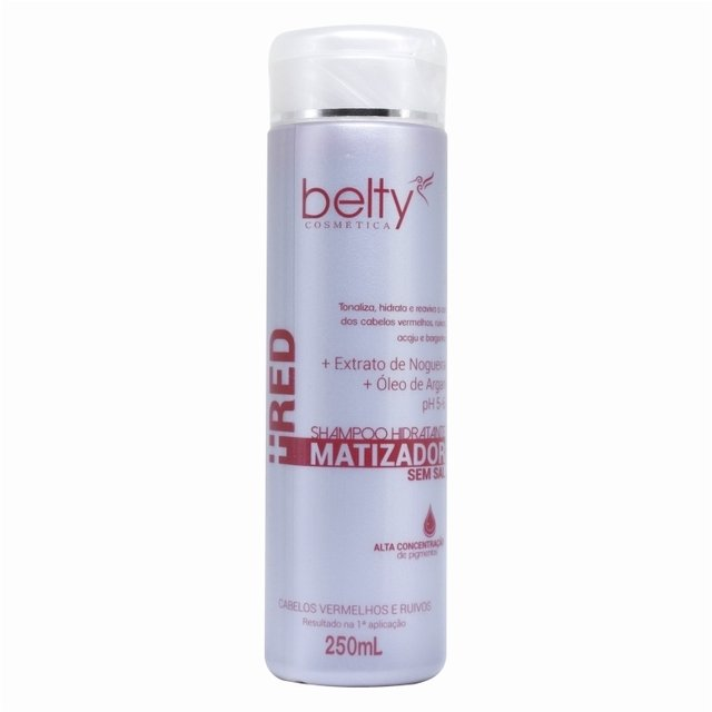 BELTY - SHAMPOO MATIZADOR RED | 200ml