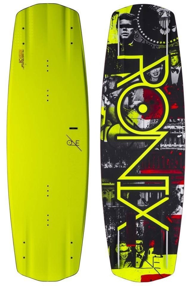 combo de wakeboard ronix one 142cm con botas ronix district 7,5-11,5