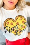 "T shirts ""Pizza is my bae"""