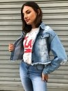 JAQUETA CROPPED JEANS LERRUX ANITTA