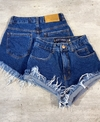 Shorts jeans cós alto BASIC lady rock