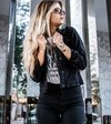 JAQUETA JEANS BLACK LADY ROCK