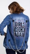 "MAXI JAQUETA LADY ROCK ""GIRLS ROCK AGAIN"""
