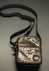 SHOULDER BAG metalic animal print ZNL
