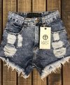SHORTS MARMORIZADO LADY ROCK