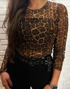 BODY TULE ANIMAL PRINT - comprar online