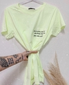 T shirts CANDY neon minimal
