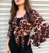 BLUSA ANIMAL PRINT SUZAN