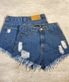 Shorts jeans cós alto lady rock Lara