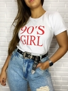 "T shirts ""girls anos 90's"""