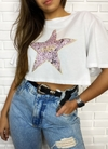 "Cropped t shirts lady rock ""stars"""