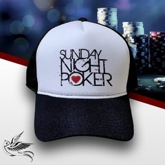 BONÉ SUNDAY NIGHT POKER - loja online
